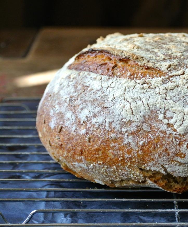 Four grain sourdough