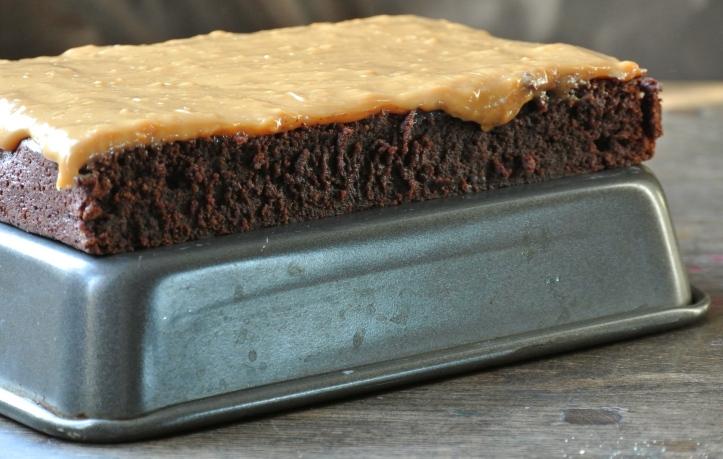 Dulce de Leche Sourdough Brownies
