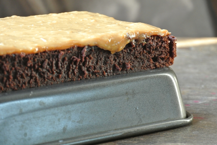 Dulce de Leche Sourdough Brownies