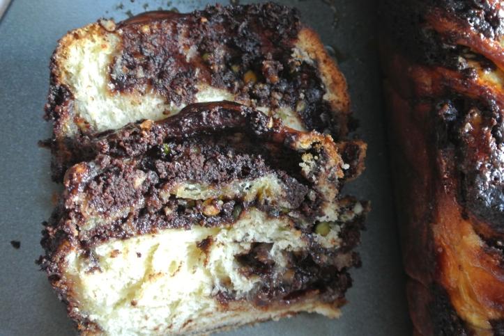 chocolate krantz cake
