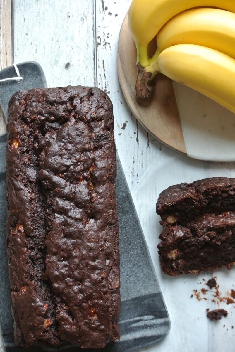 Chocolate banana bread berry much blog forumfinder Choice Image